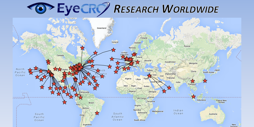 EyeCRO – Worldwide map cropped